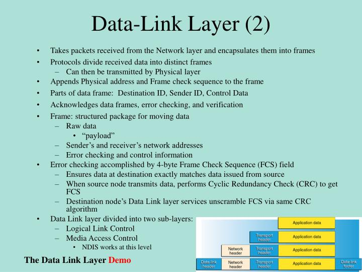 Data-Link Layer (2)