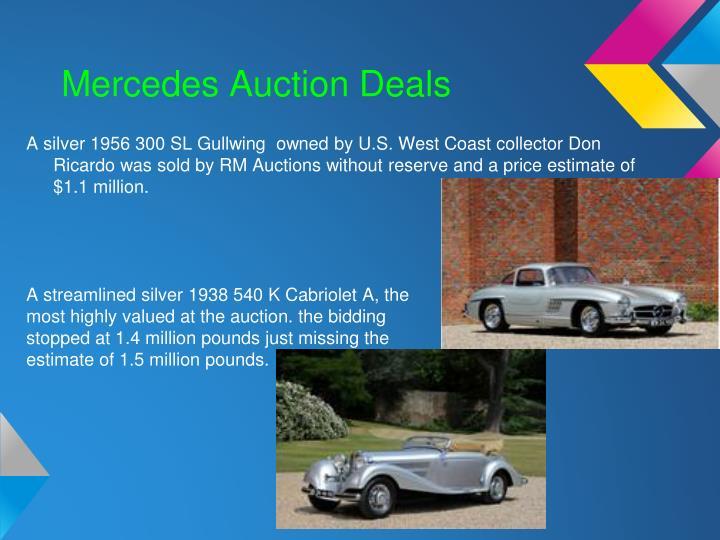 Mercedes Auction Deals