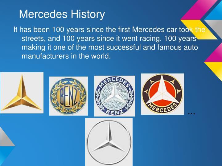 Mercedes History