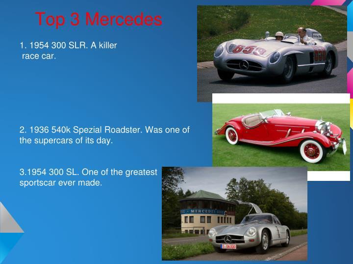Top 3 Mercedes