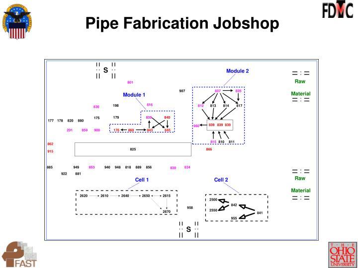 Pipe Fabrication Jobshop