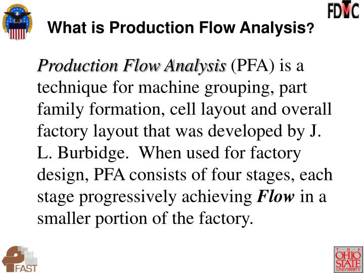 What is Production Flow Analysis