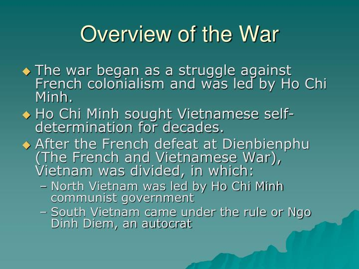 Overview of the War