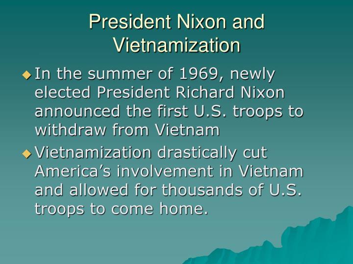 President Nixon and