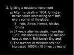 2 igniting a missions movement