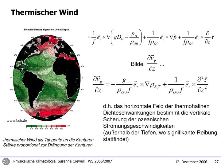 Thermischer Wind