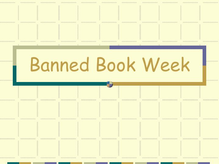 banned book week