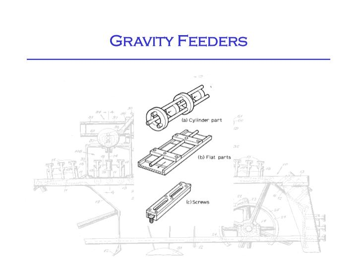 Gravity Feeders