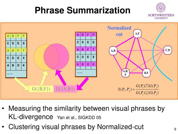 Phrase Summarization
