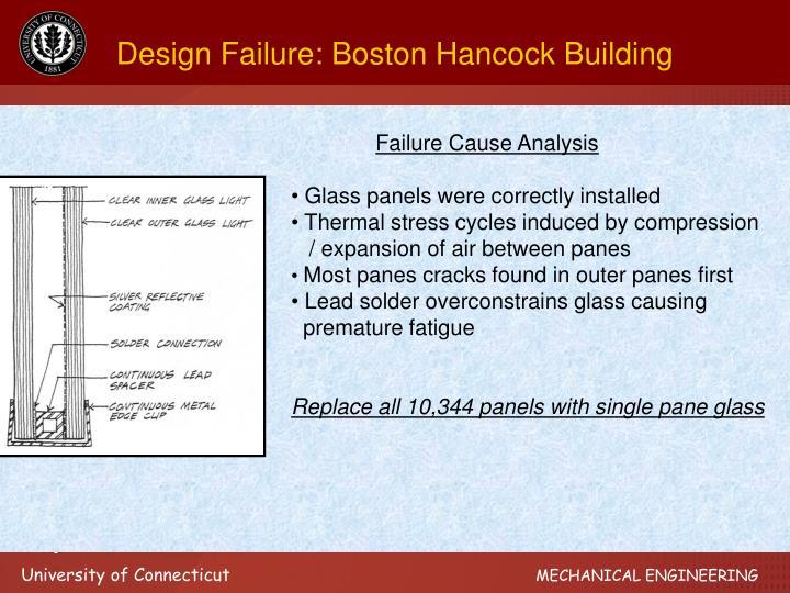 Design Failure: Boston Hancock Building