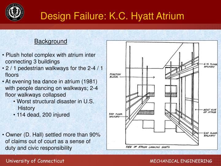 Design Failure: K.C. Hyatt Atrium
