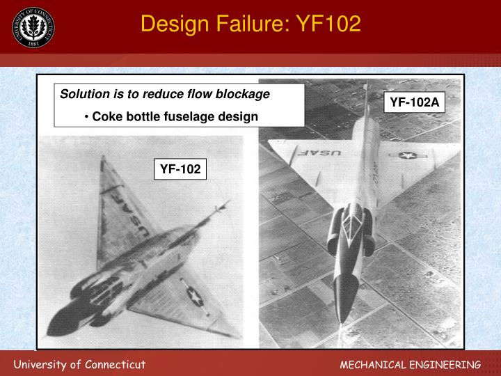 Design Failure: YF102
