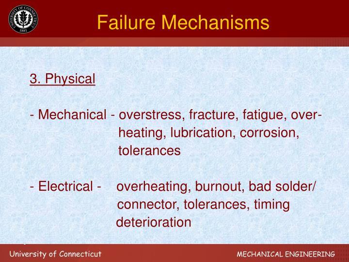 Failure Mechanisms
