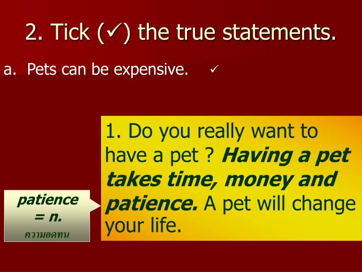 2. Tick (