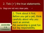 2 tick the true statements1