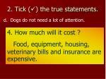 2 tick the true statements6