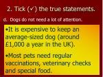 2 tick the true statements7