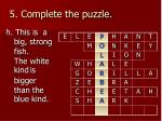 5 complete the puzzle7