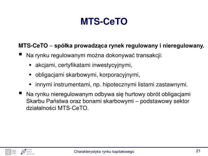 MTS-CeTO