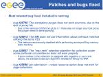 patches and bugs fixed3