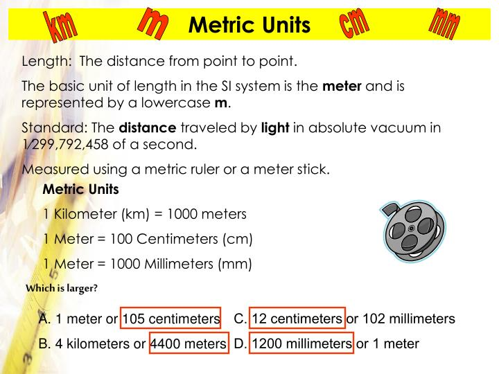 A. 1 meter or 105 centimeters