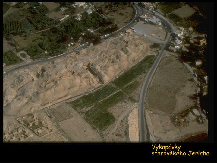 Vykopávky starověkého Jericha