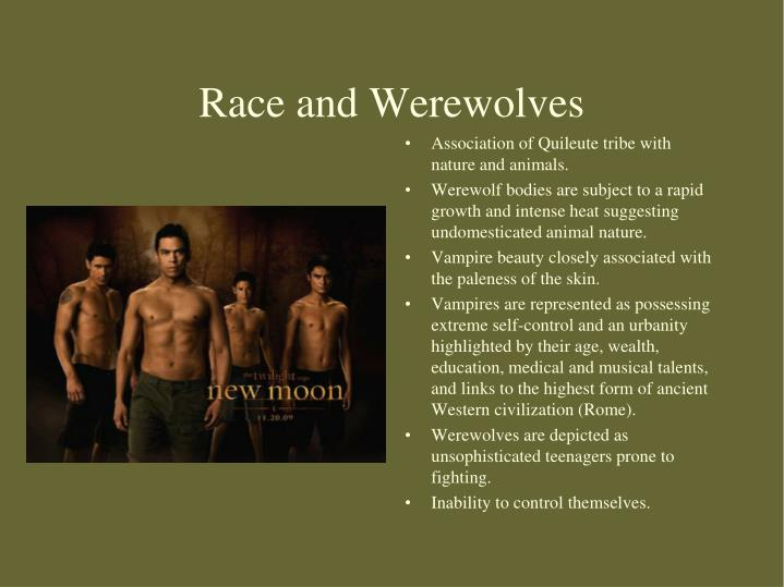 Race and Werewolves