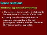 sense relations12