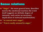 sense relations4