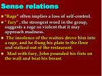 sense relations5