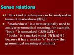 sense relations8