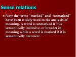 sense relations9