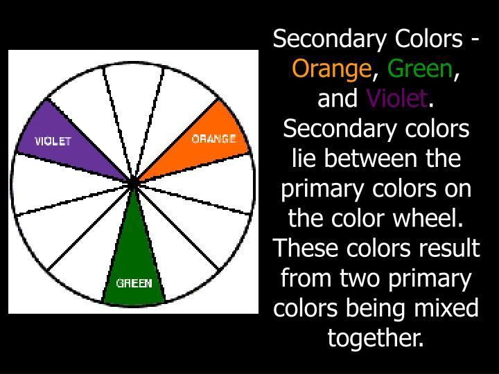 Secondary Colors -