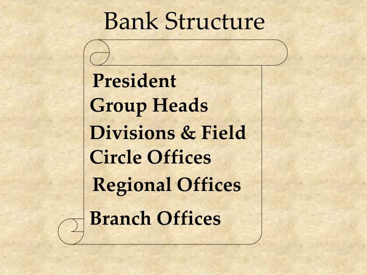 Bank Structure
