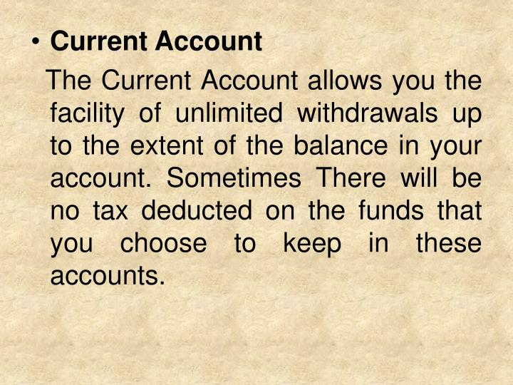 Current Account