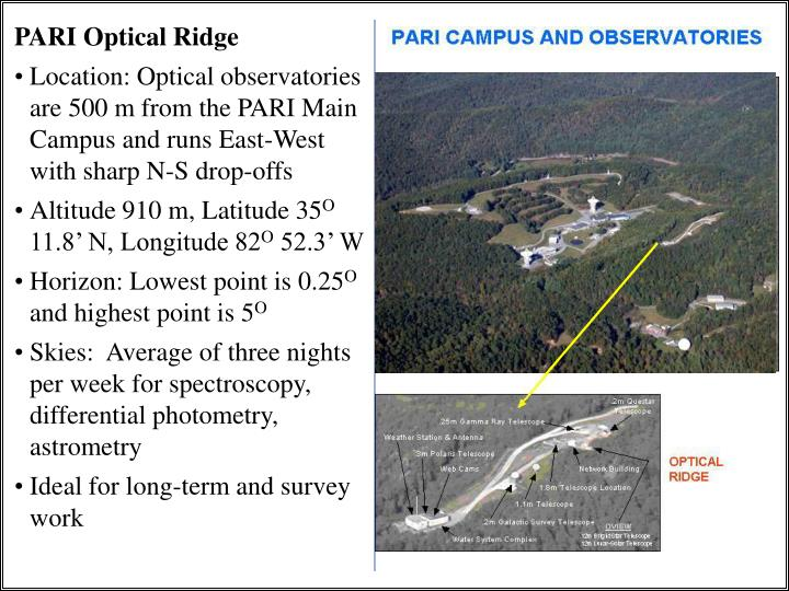 PARI Optical Ridge