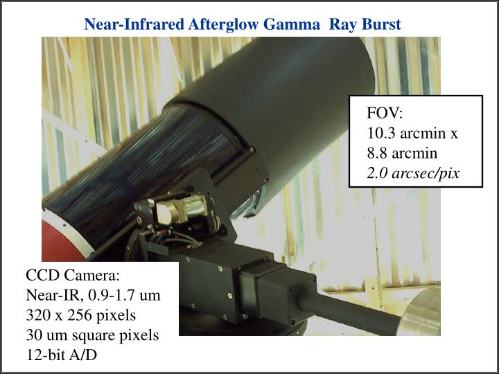 Near-Infrared Afterglow Gamma  Ray Burst