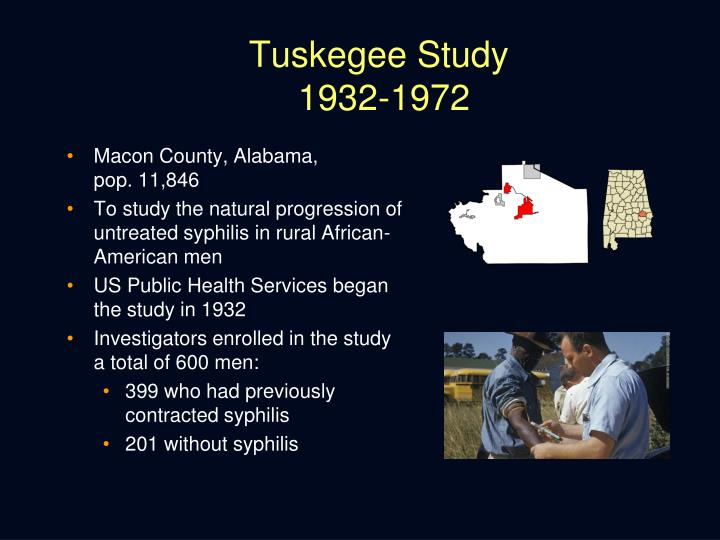 Tuskegee Study