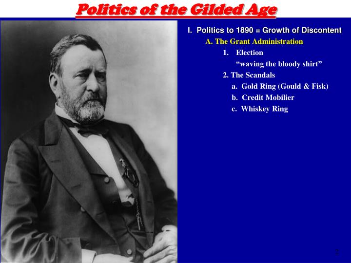 Politics of the gilded age