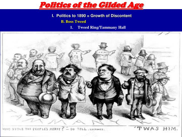 Politics of the gilded age1