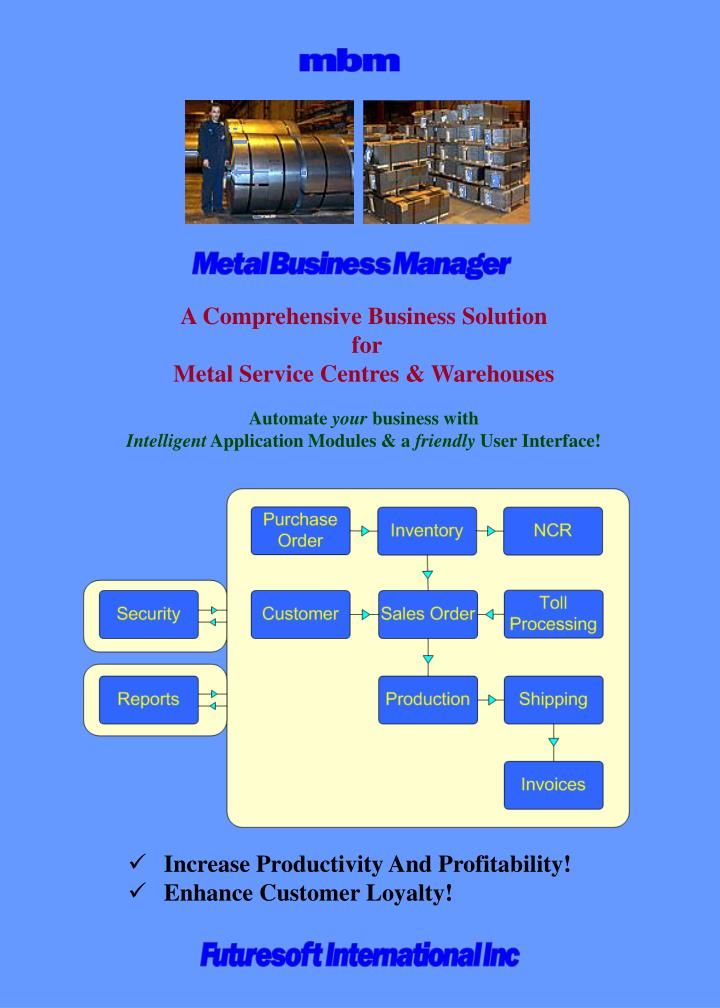 A Comprehensive Business Solution