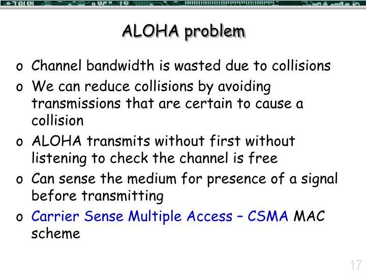 ALOHA problem