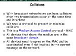 collisions