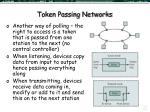 token passing networks