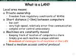what is a lan