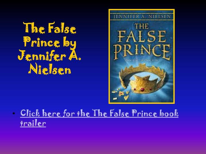 The False Prince by Jennifer A. Nielsen
