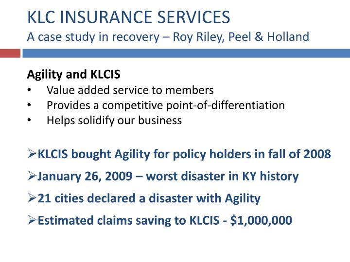 KLC INSURANCE SERVICES