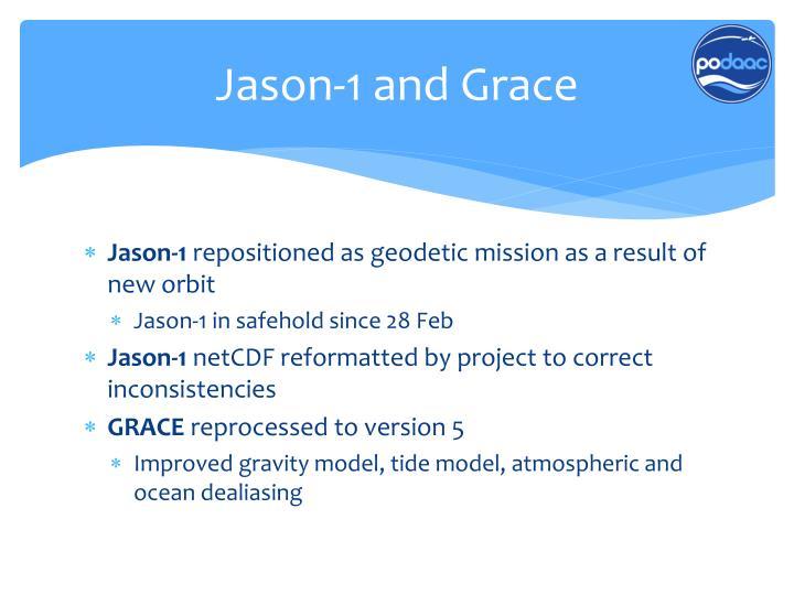 Jason-1 and Grace