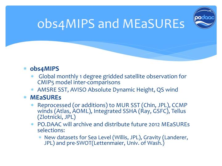 obs4MIPS and
