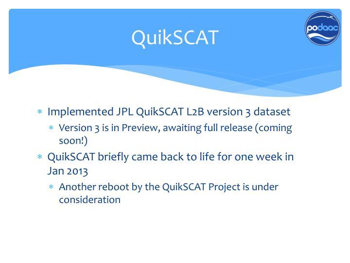 QuikSCAT